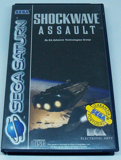 Shockwave Assault SEGA SATURN