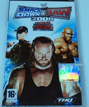 Smackdown vs Raw 2008 PSP