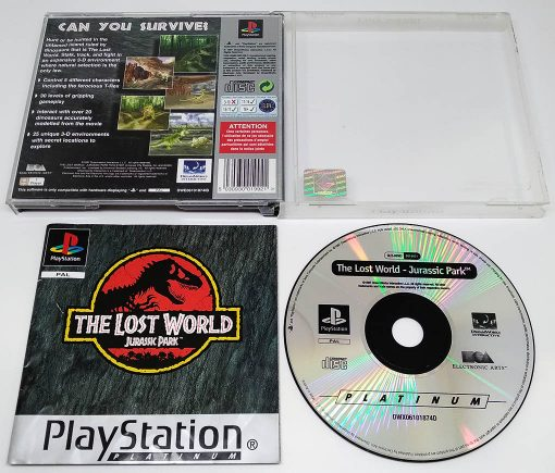 The Lost World: Jurassic Park PS1
