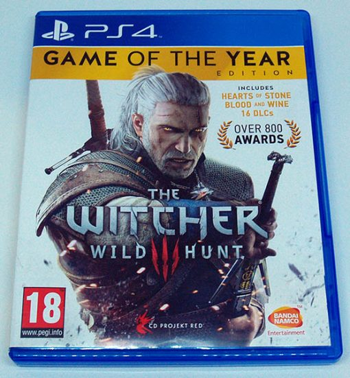 The Witcher III: Wild Hunt - GOTY Edition PS4