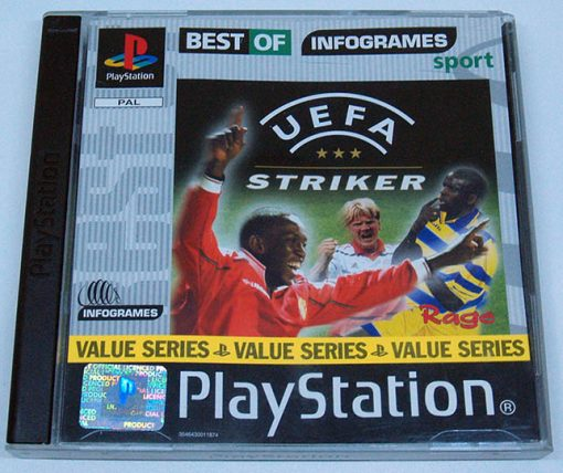 UEFA Striker PS1