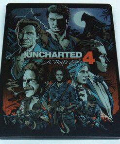 Uncharted 4: O Fim de um Ladrão - Steelbook PS4