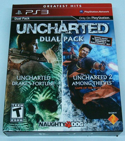 Uncharted: Dual Pack PS3