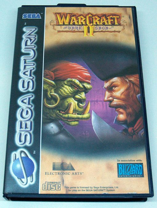 Warcraft 2: The Dark Saga SEGA SATURN