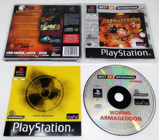 Worms Armageddon PS1