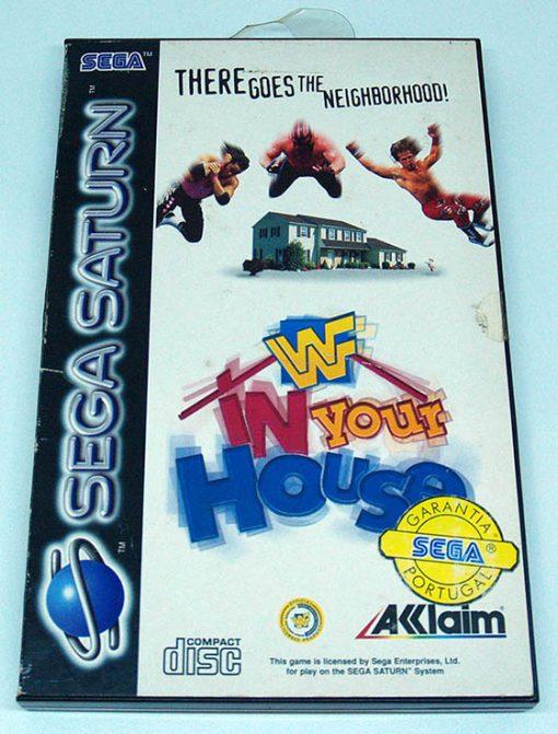WWF In Your House SEGA SATURN