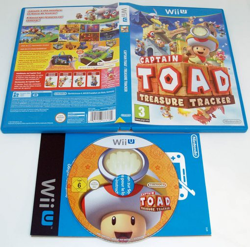 Captain Toad: Treasure Tracker WII U