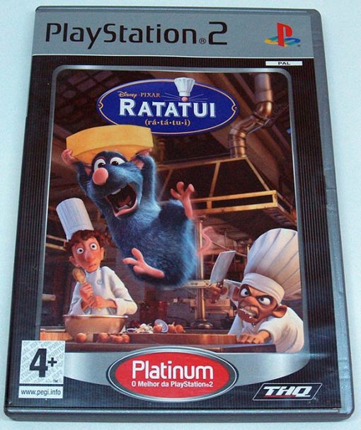 Disney Pixar Ratatui PS2