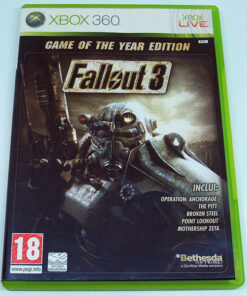 Fallout 3 - Game of the Year Edition X360