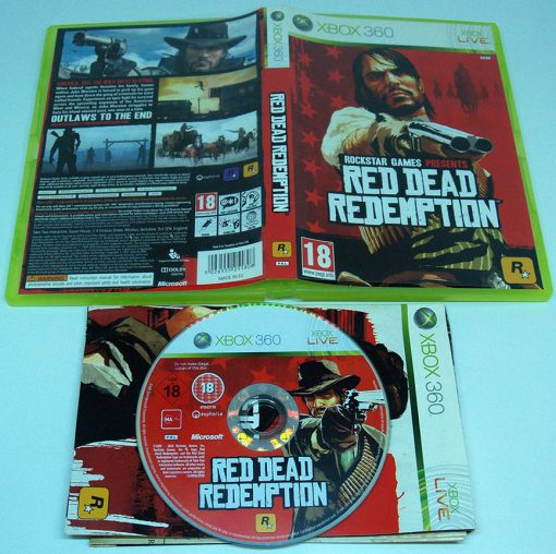 Red Dead Redemption X360