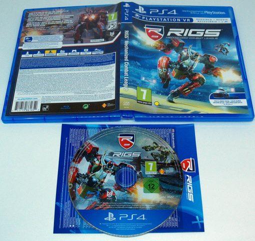 Rigs: Mechanized Combat PS4