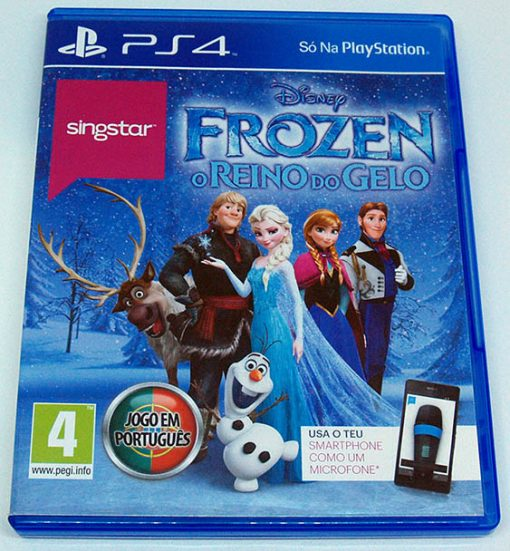 Singstar Frozen: O Reino do Gelo PS4