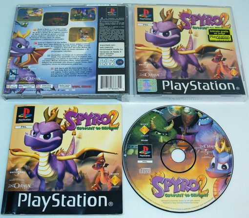 Spyro 2: Gateway to Glimmer PS1