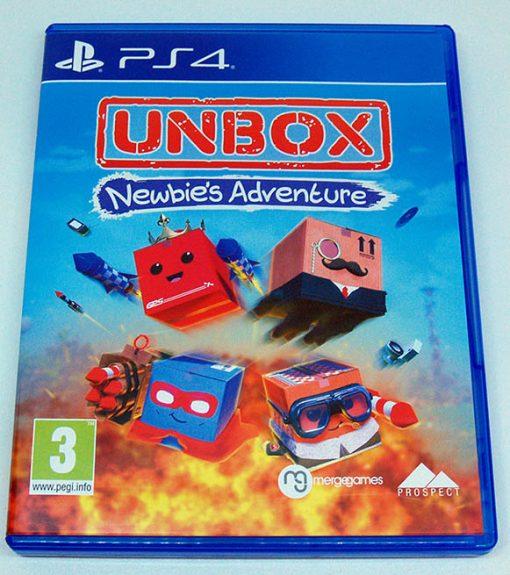 Unbox: Newbie's Adventure PS4