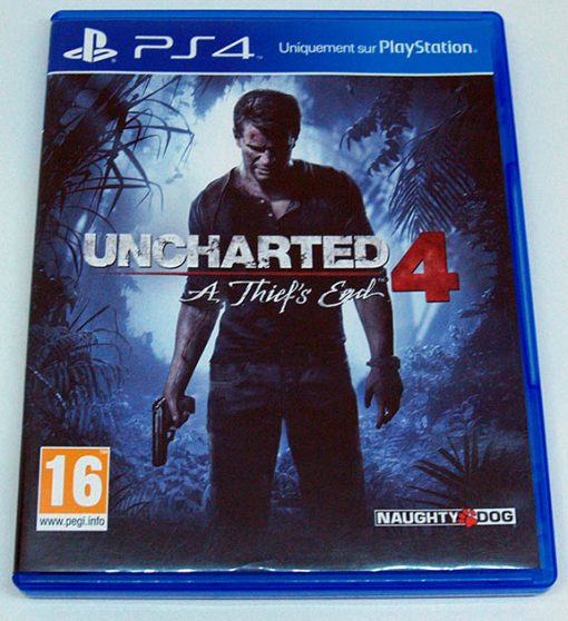 Uncharted 4: A Thief's End FR PS4