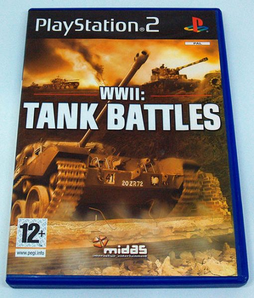 WWII: Tank Battles PS2