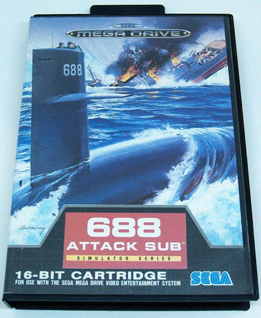 688 Attack Sub MEGA DRIVE