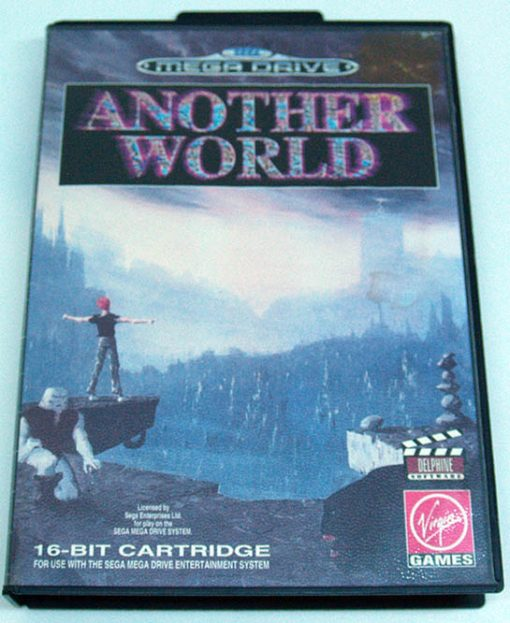 Another World MEGA DRIVE