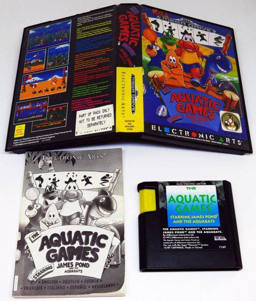 Aquatic Games starring James Pond and the Aquabats MEGA DRIVE