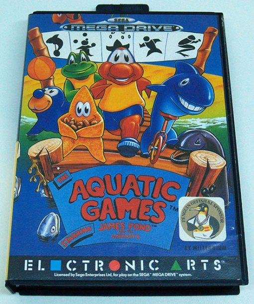 Aquatic Games starring James Pond MEGA DRIVE