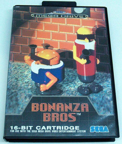 Bonanza Bros MEGA DRIVE