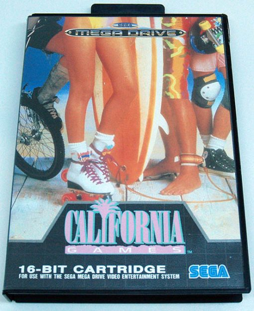 California Games MEGA DRIVE