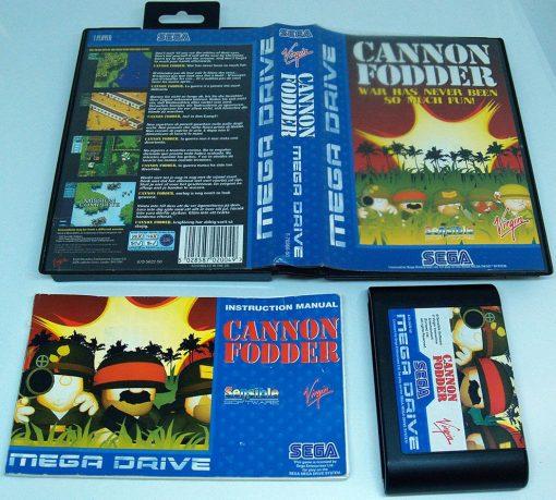 Cannon Fodder MEGA DRIVE