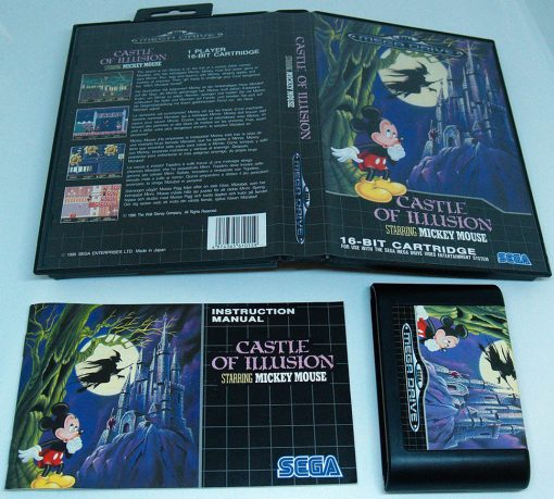 Castle of Illusion starring Mickey Mouse MEGA DRIVE