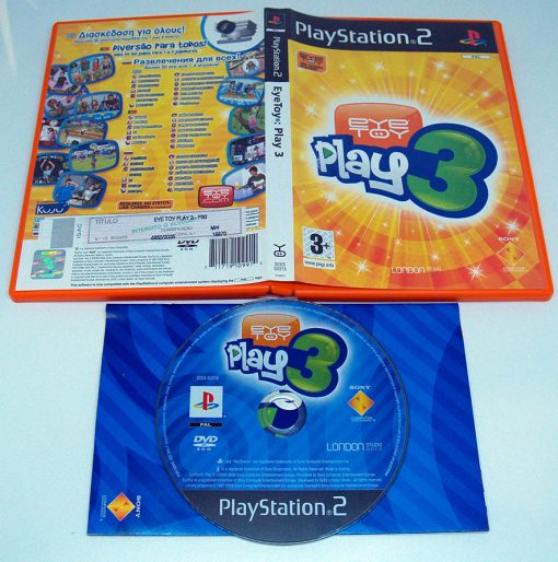 EyeToy Play 3 PS2