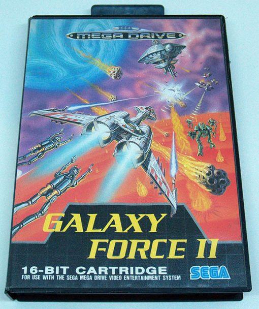 Galaxy Force II MEGA DRIVE