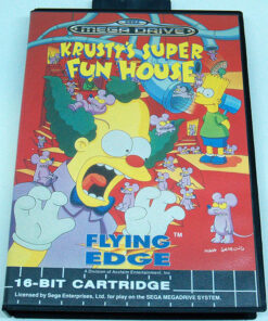 Krusty's Super Fun House MEGA DRIVE