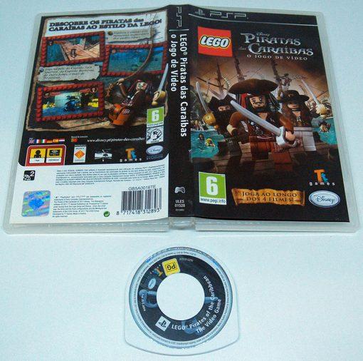 Lego Piratas das Caraíbas PSP