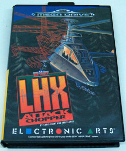 LHX Attack Chopper MEGA DRIVE