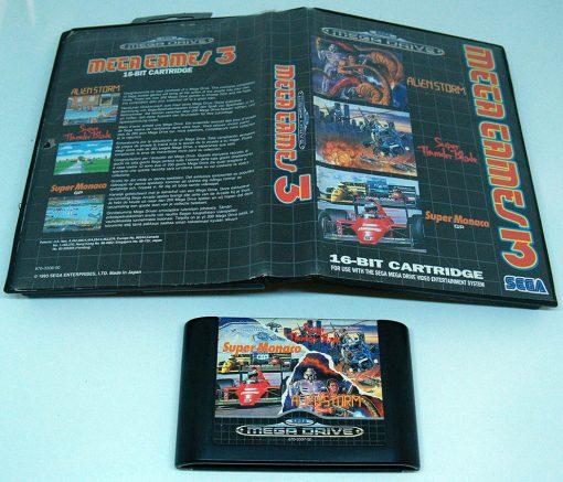 Mega Games 3 MEGA DRIVE