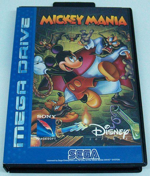 Mickey Mania MEGA DRIVE