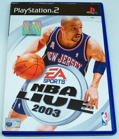NBA Live 2003 PS2