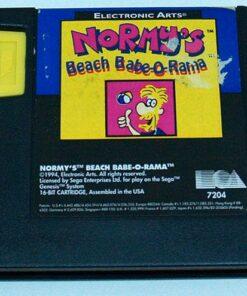 Normy's Beach Babe-o-Rama CART MEGA DRIVE