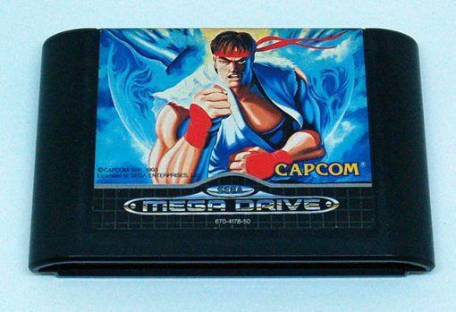 Street Fighter II: Special Champion Edition CART MEGA DRIVE