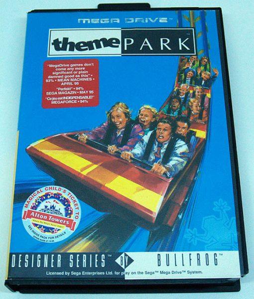 Theme Park MEGA DRIVE