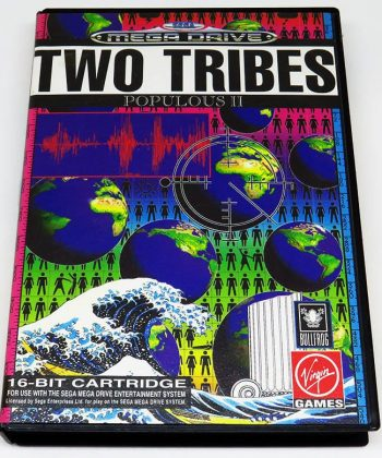 Two Tribes: Populous II MEGA DRIVE