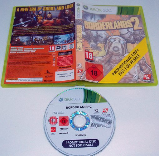 Borderlands 2 - Promo Copy X360