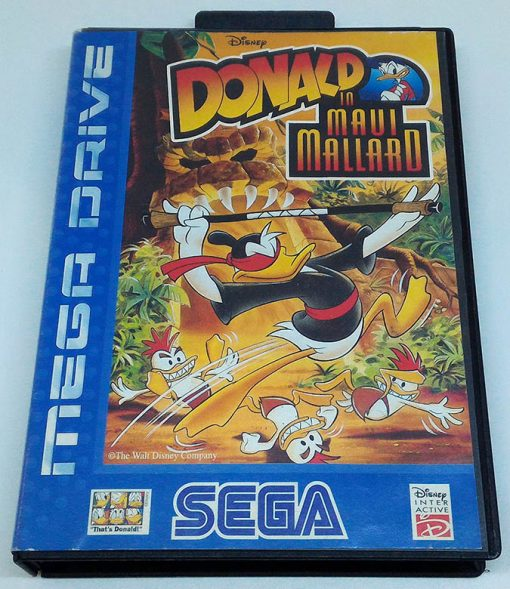 Donald Duck in Maui Mallard MEGA DRIVE