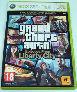 Grand Theft Auto: Episodes From Liberty City X360