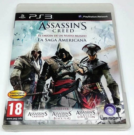 Assassin's Creed: Birth of a New World - The American Saga PS3