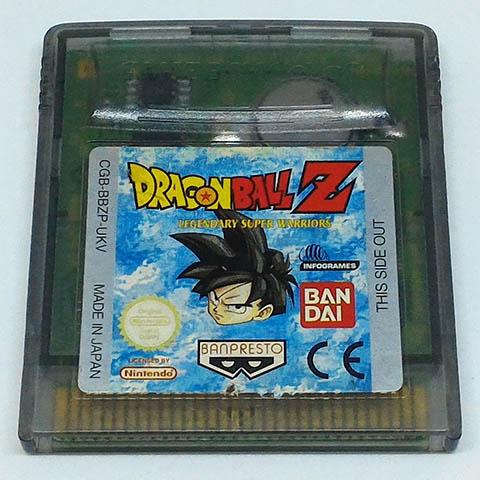 Dragon Ball Z: Legendary Super Warriors GAME BOY COLOR