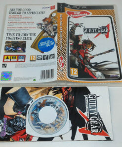 Guilty Gear XX Accent Core Plus PSP