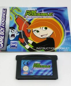 Kim Possible: Drakken's Demise GAME BOY ADVANCE