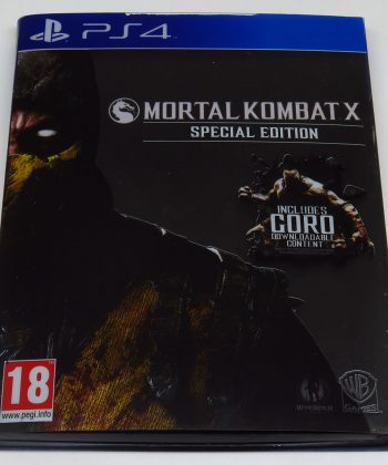 Mortal Kombat X - Special Edition Steelbook PS4