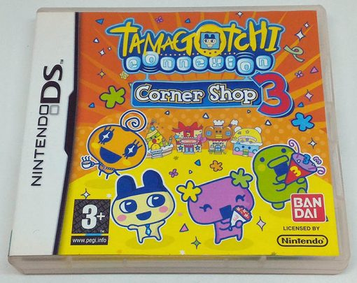 Tamagotchi Connection Corner Shop 3 NDS