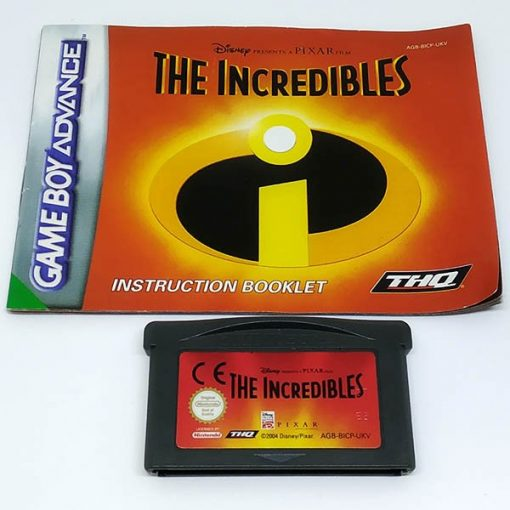 The Incredibles GAME BOY ADVANCE